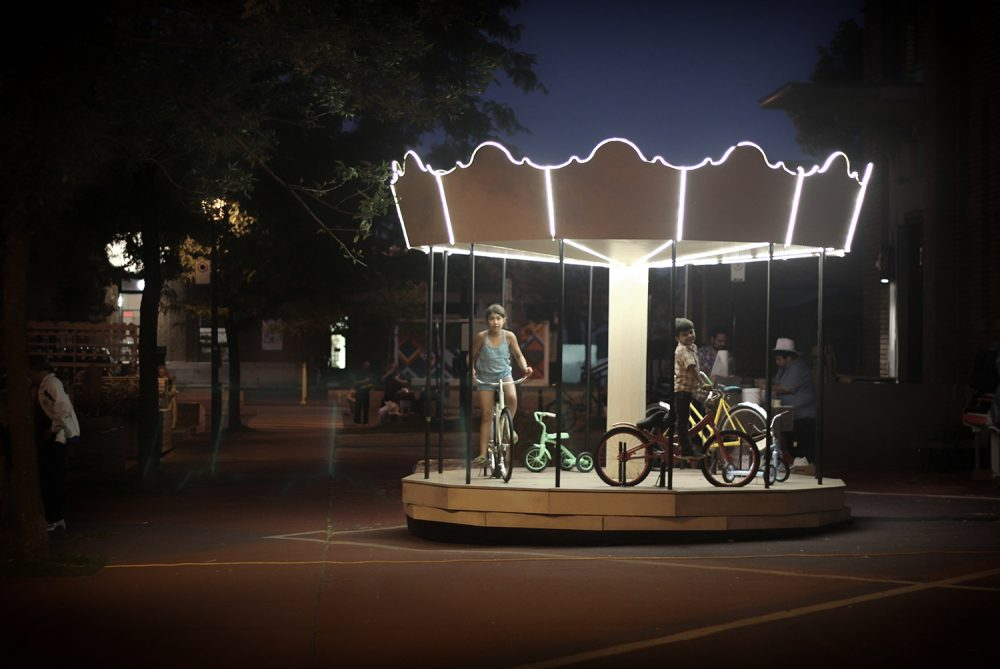 Place Shamrock - Atelier Barda architecture - Montreal - Carrousel