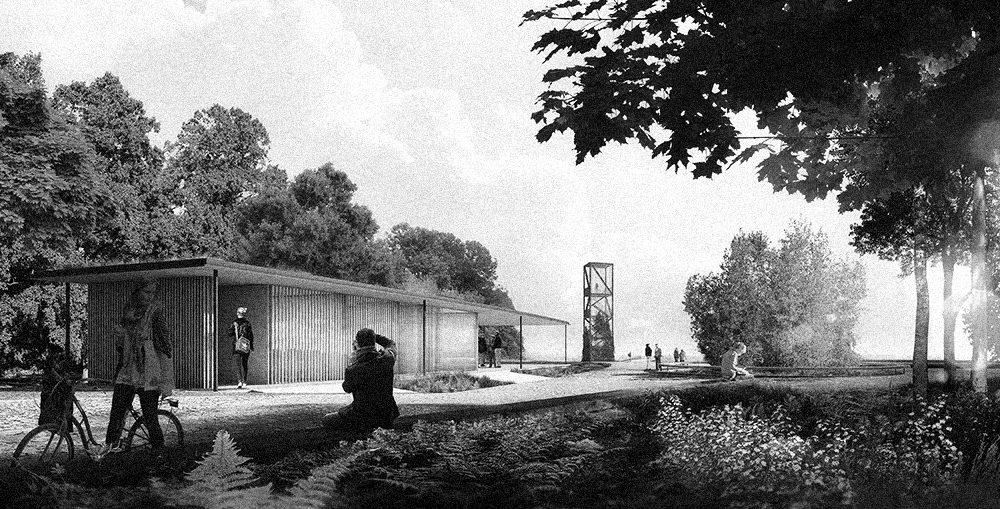 Plage de l'Est - Atelier Barda architecture - Montréal - Finaliste