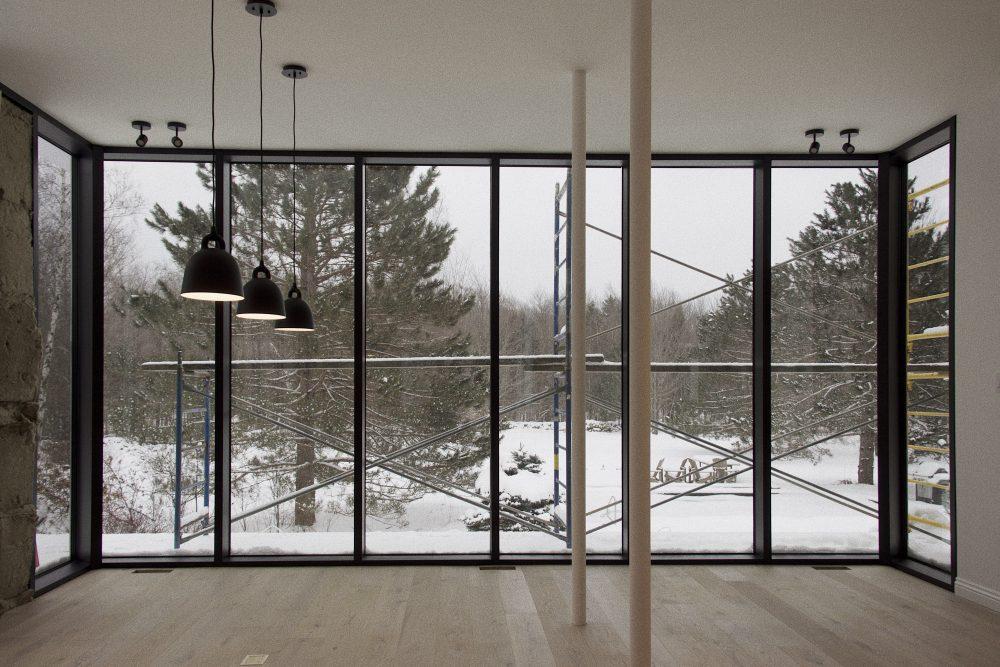 Résidence Élie - Atelier Barda architecture - Sutton - Chantier