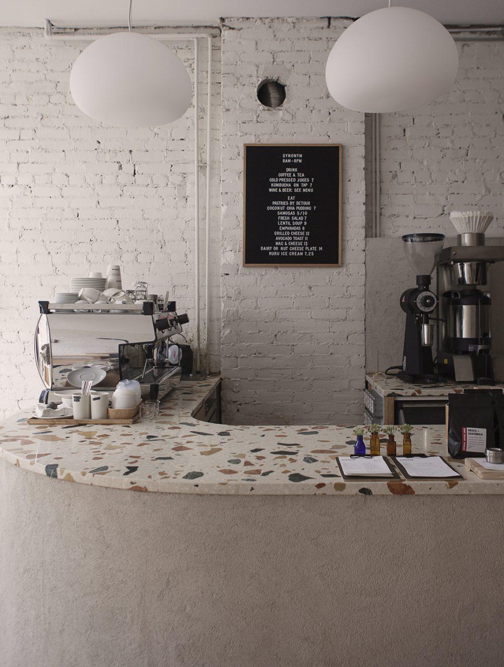 Synonym café - Atelier Barda architecture - Toronto