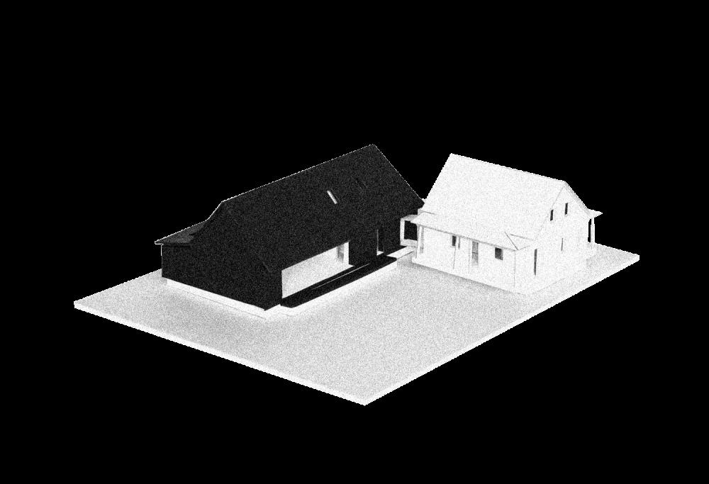 Résidence Sainte-Julie - Atelier Barda architecture - Maquette