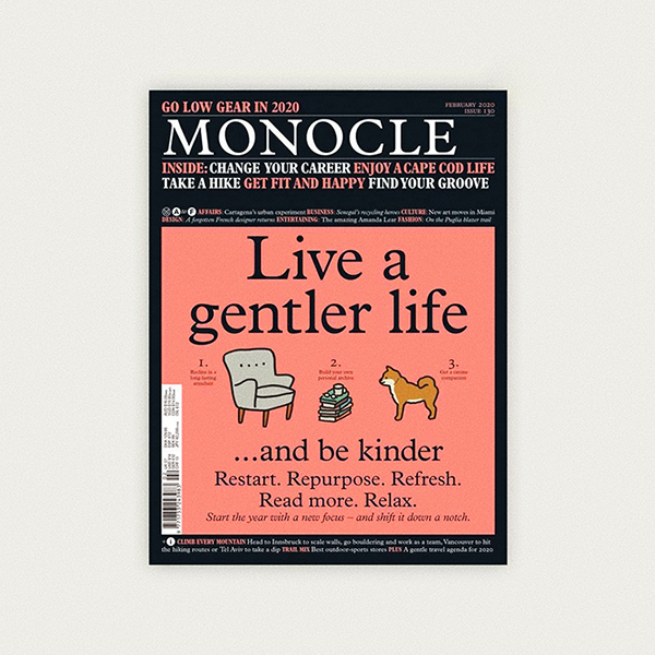 Profil du studio dans l'issue 130 de Monocle Magazine